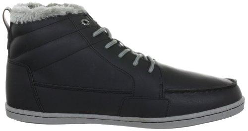 Slipper Unisex Mehrfarbig Länge mit Schwarz 1116 gefütterte JAY Synthetik Grau Schuhe Erwachsene Kappa Warm halber für 8d1wqqTC