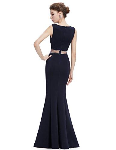Ever-Pretty Womens Elegant Sleeveless Floor Length Mermaid Style Prom Dress 12 US Midnight Blue by Ever-Pretty (Image #2)