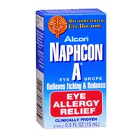 Naphcon A Naphcon A Eye Allergy Relief Drops, 15 ml (Best Allergy Medicine For Itchy Burning Eyes)