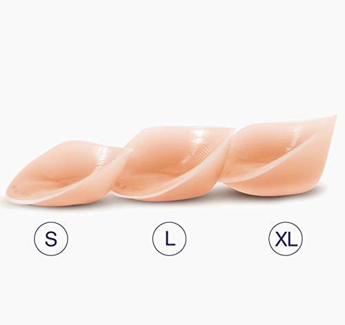NuBra Invisible Breast Size Enhancers B106, Nude, X-Large