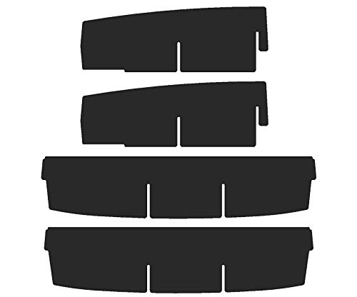 2010-19 Vehicle OCD - Made in USA Upper Center Console Organizer for Dodge RAM 1500 2009-18 Non-Leather Console armrest on Full Console w//Bucket Seats ONLY and RAM 2500//3500