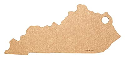 """Epicurean State of North Dakota Cutting and Serving Board, 14.25 by 8"""", Natural"""