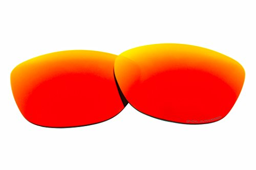 Polarized Replacement Sunglasses Lenses for Oakley Frogskins with Excellent UV Protection (Fire - Lenses Oakley Frogskins