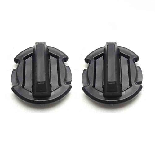2 Pcs Twist Floor Drain Plug Trap Seal for 2014/2015/2016/2017 Polaris RZR XP 1000 900 XP 4 Turbo 8414694-BUNKER INDUST