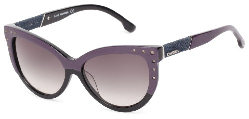 Diesel Women's Dl00515683b Cat-Eye, Violet, 56 mm