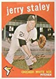 1959 Topps Regular (Baseball) Card# 426 Jerry Staley of the Chicago White Sox VGX Condition