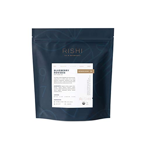 (Rishi Tea Organic, Blueberry Rooibos, 1-Pound)