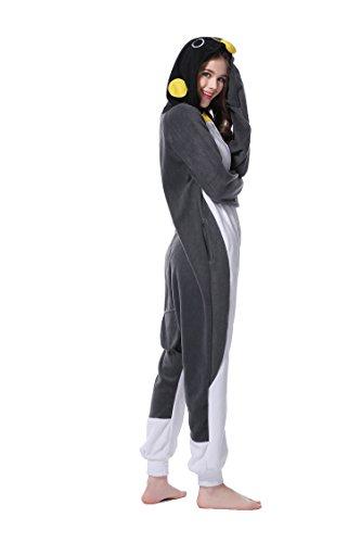 Ropa Disfrazada de Dormir Pijamas Cosplay para Halloween Navidad Carnaval Fiesta de Cumpleaños Forma de Pinguino