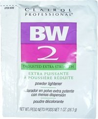 (CLAIROL Professional BW 2 Dedusted Extra Strength Powder Lightener 1oz/28.3g (One Application))