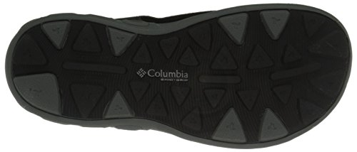 Columbia Boy's Columbia Youth Vent Sandals Black Grey TECHSUN Black PPwdrq1
