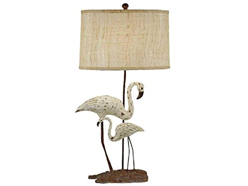 (Crestview Collection Avignon Buffet Table Lamp with Bell Shade, 36.5