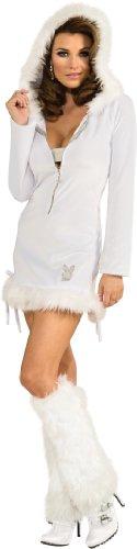 Secret Wishes Playboy Snow Bunny Costume, Multi, Small]()