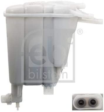 pack of one febi bilstein 103428 Coolant Expansion Tank with sensor and heat shield