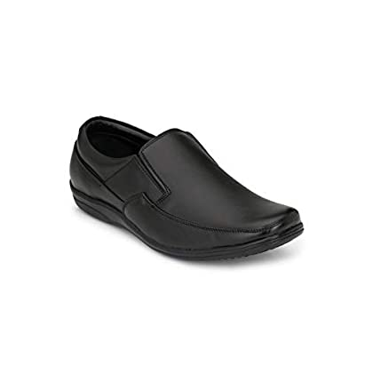 FENTACIA Men Genuine Leather Formal Slip