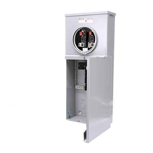 Siemens MC0816B1200T 8 Space, 16 Circuit, 200 Amp Main Breaker Meter Combination with Ring Type - Main Disconnect