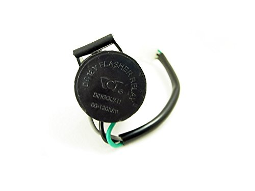 12v 3 Wire Turn Signal Flashing Relay GY6 50cc 125cc 150cc 250cc Scooter Moped Motorcycle ATV BS