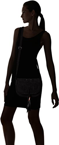 Bandolera Negro Scooter Bolsos 2 Mujer Keetoowah noir vwxqCH4n