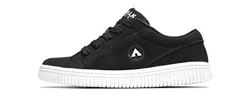 Airwalk Classic One-bling Heren Suede Skate Schoenen Zwart