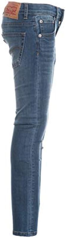 Levi's Jeans Bambino 519 Denim blu Medio - Skinny Denim: Odzież