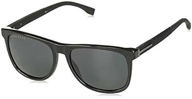 Amazon.com: anteojos de sol BOSS negro 983/S 0807/IR gris ...