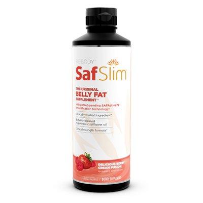 ReBody - Belly Fat SafSlim Breakthrough délicieuse solution Berry Crème Fusion - 16 oz