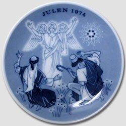 1974 Porsgrund Christmas Plate - The ()