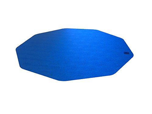 Cleartex 9Mat, Ultimat Chair Mat, Blue Polycarbonate, For Hard Floors, 38