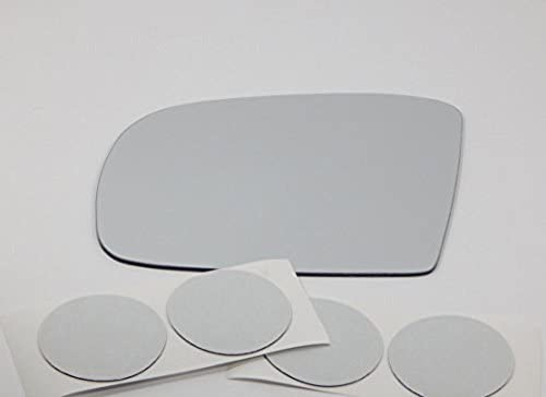 Some Models use 2 Options See Details Fits MB GL//ML//R Series Left Driver Side Mirror Glass Lens Models Without Auto Dimming w//Adhesive USA