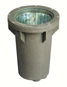 Hinkley Lighting 51000BZ 120V Line Voltage Small In-Ground Well Light, 100 Watt Maximum Incandescent Light Bulb, Bronze by Hinkley