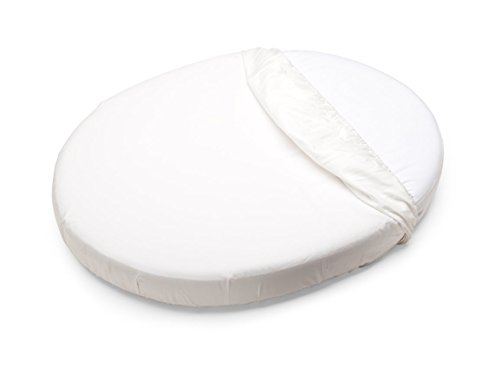 Stokke Sleepi Mini Fitted Sheet, White