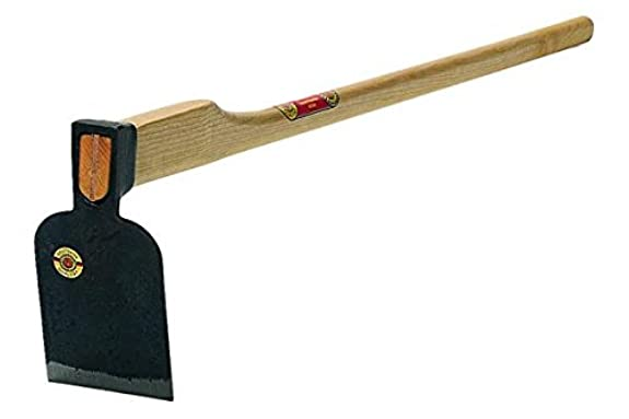 """Heavy Root Hoe 3.3lbs - 7.5""""x 5"""" with 53"""" Ash Handle"""