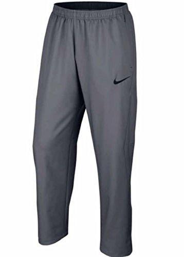 Nike Men's Team Woven Sweatpants (Wolf Grey, Medium) ()