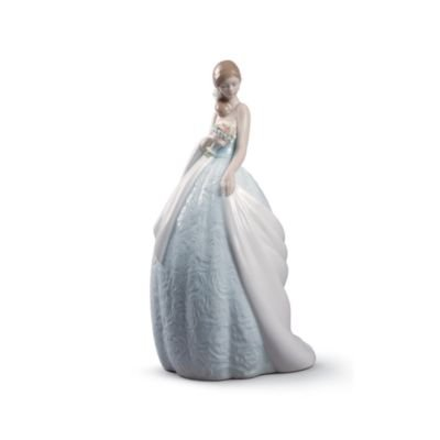 Lladro Her Special Day Porcelain Figurine - 01008784 by Lladro