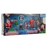 Arthur Christmas Collector Mini Figure 6Pack Santa, Arthur, Bryony, Gwen, Steve Reindeer