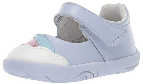 pediped Girls' Dorothy First Walker Shoe Opal 19