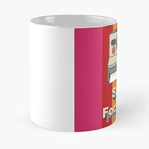 Polaroid Camera Polaroids Photographs 1970s - Morning Coffee Mug Ceramic Best Gift