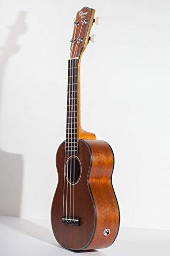 Ohana Model CK-14E All Mahogany Electric Acoustic Concert Size Ukulele
