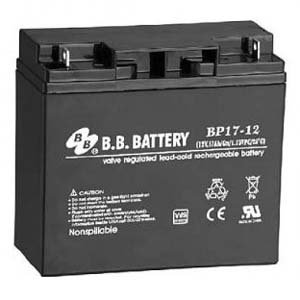 Wing Shim (B.B. Battery 12V 17Ah Battery B1 Terminal, BP17-12-B1)