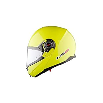 Casco modular RIDE-LS2 FF386 L-Jaune, color amarillo fluorescente