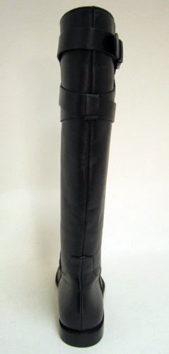 Coach Womens Boot Boot Cayden Smooth Nappa Leather Black Boots (6.5) [abbigliamento]