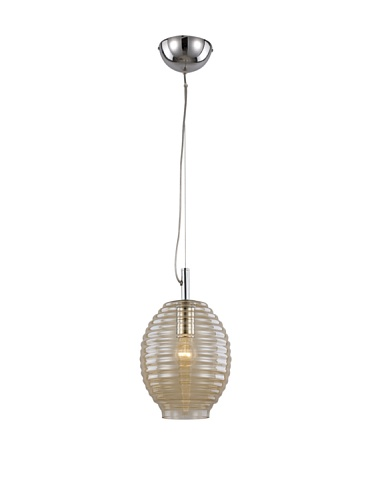 Trans Globe Lighting Bee Hive Drop Pendant Light 8