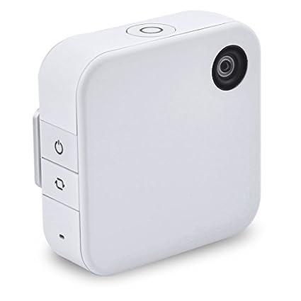 eDealMax Clip de vídeo Digital Mini 1080P Full HD w función de conexión Wi-Fi