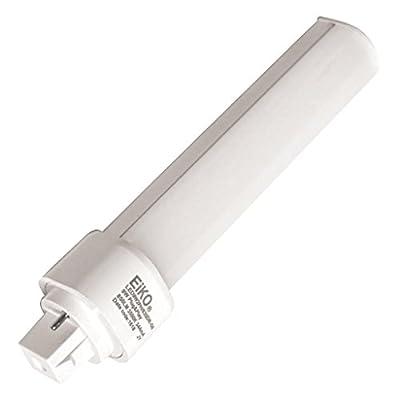 Eiko 9W 2 Pin Horizontal 4000K G24d LED Bulb, Uses Existing Ballast