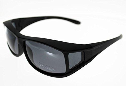 Ad suelo Fit Over, gafas graduadas escama marrón, talla L, polarizadas adulto protección