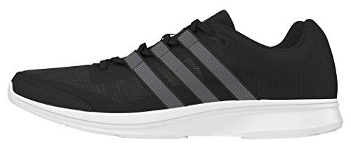 adidas Lite Runner M, Chaussures de Running Homme Noir (Core Black/Core Black/Night Met)