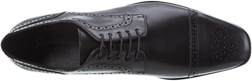 Sioux Paavo, Zapatos de Cordones Derby para Hombre Schwarz (Schwarz)