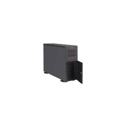 Supermicro SuperServer SYS-7048R-TR Dual LGA2011 920W 4U Rackmount/Tower Server Barebone System (Black)