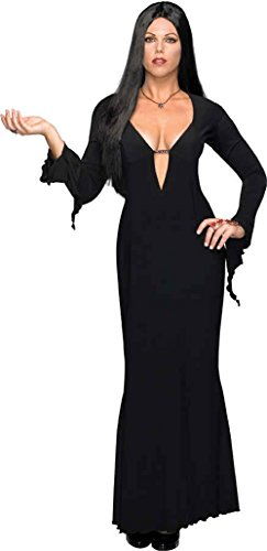 UHC Women's Morticia Addams Family Vampire Fancy Halloween Adult Sexy Costume, Plus (14-16)