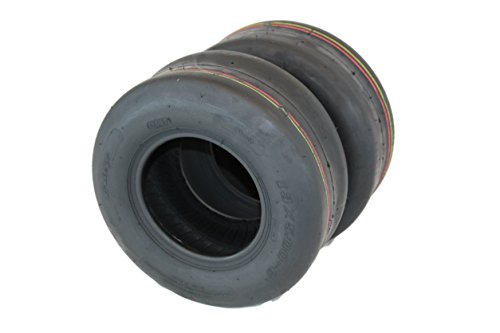 Antego Set of 2 New 13x5.00-6 Turf Tires for Lawn and Garden Mower by Antego