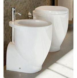 Ideal Standard Wc E Bidet Uniti.Vaso Bidet E Sedile Serie Small Ideal Standard Scarico A